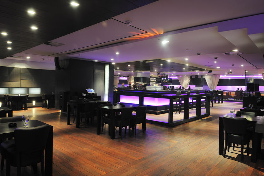 Restaurant moderne concept agency